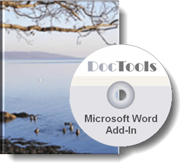 Word Add-Ins from DocTools